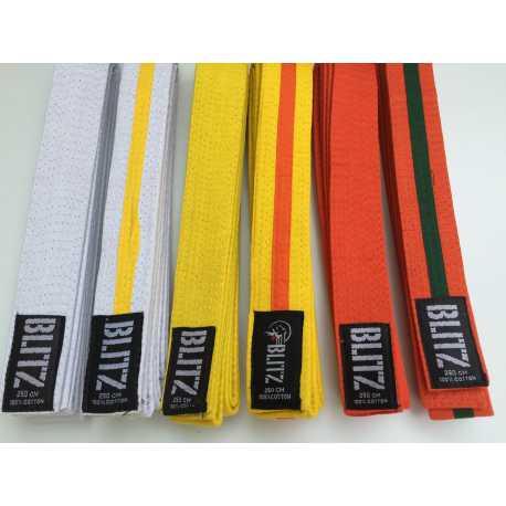 Pásky na kimono judo pro nejmenší