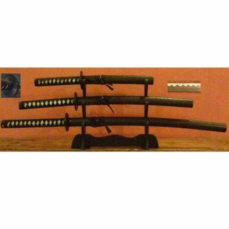 Sada mečů Černá chryzantéma - Katana