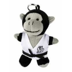Plyšová hračka judo Gorila - klíčenka