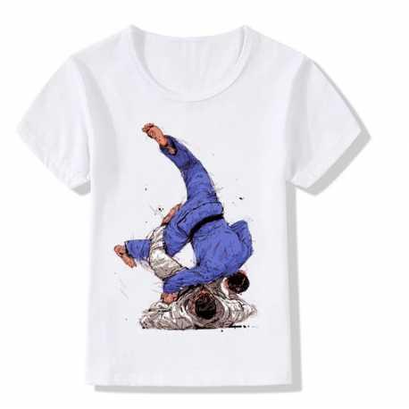 Dětské tričko Judo Sutemi Waza