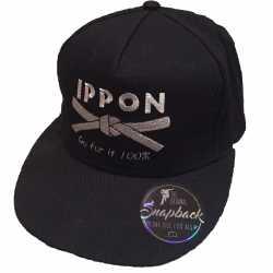 Kšiltovka Judo Ippon černá
