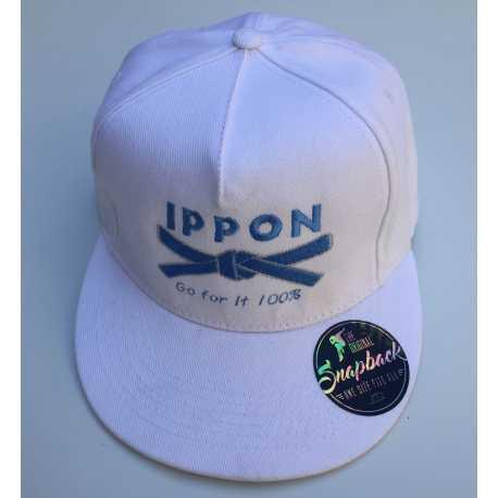 Kšiltovka Judo Ippon bílá