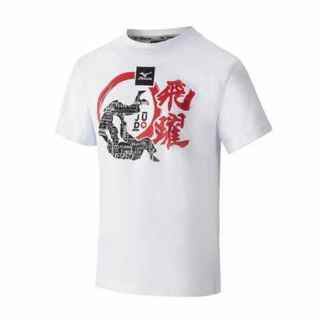 Tričko Judo Mizuno Dento bílé