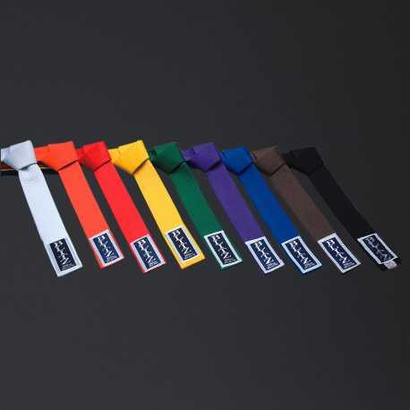 Pásek ke kimonu Judo jednobarevný