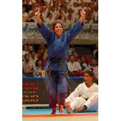 Judo kimono MIZUNO SHIAI blue