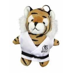 Plyšová hračka judo tygr - klíčenka