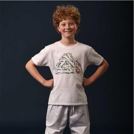 Dětské tričko Judo FF Graffiti