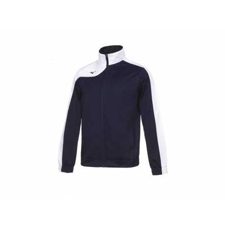 Teamová tepláková souprava Mizuno Knitted navy/white