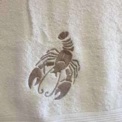 Osuška znamení zvěrokruhu 70x140cm rak