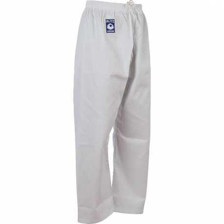 Kalhoty ke kimonu Judo Blitz Student bílé dětské